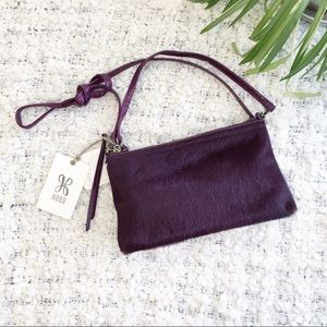 NWT Hobo Darcy Calf Hair Crossbody Purse/Wristlet